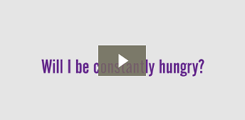 Will I be constantly hungry?