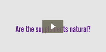 Are the supplements natural?